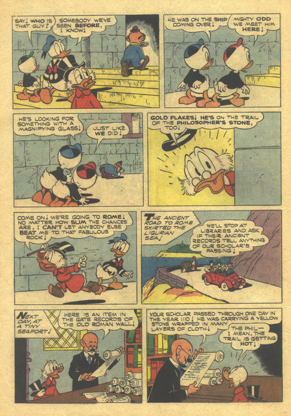 Uncle Scrooge (1953) #10 #395 - English 8