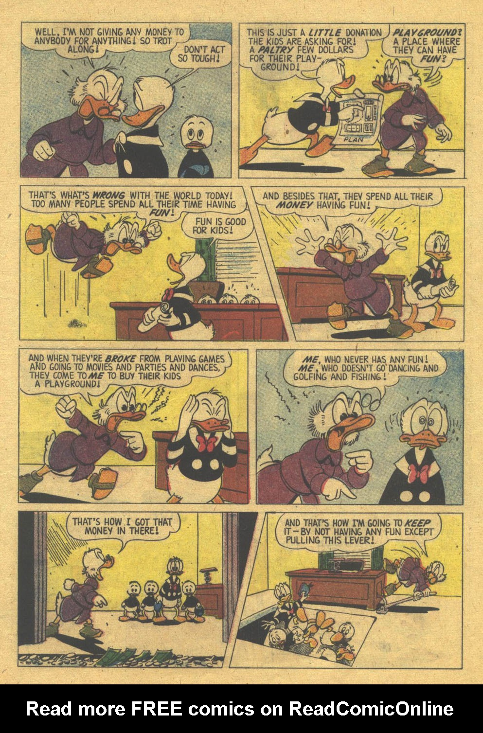 Uncle Scrooge (1953) #22 #383 - English 5