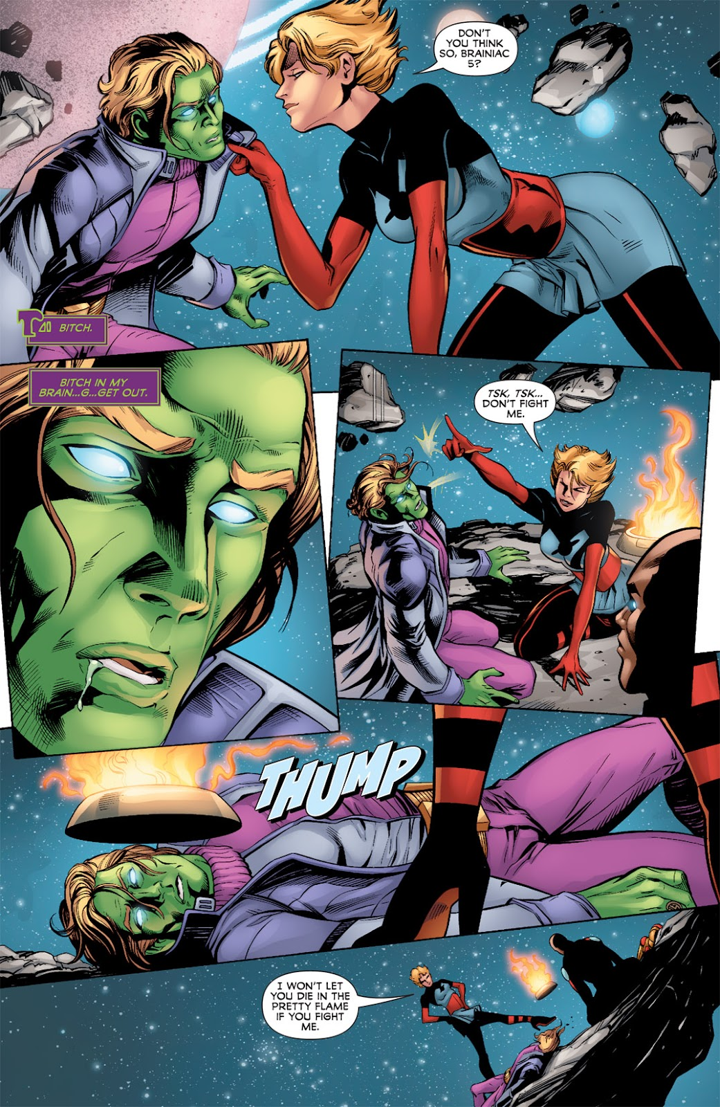 Legion of Super-Heroes (2010) Issue #3 #4 - English 8