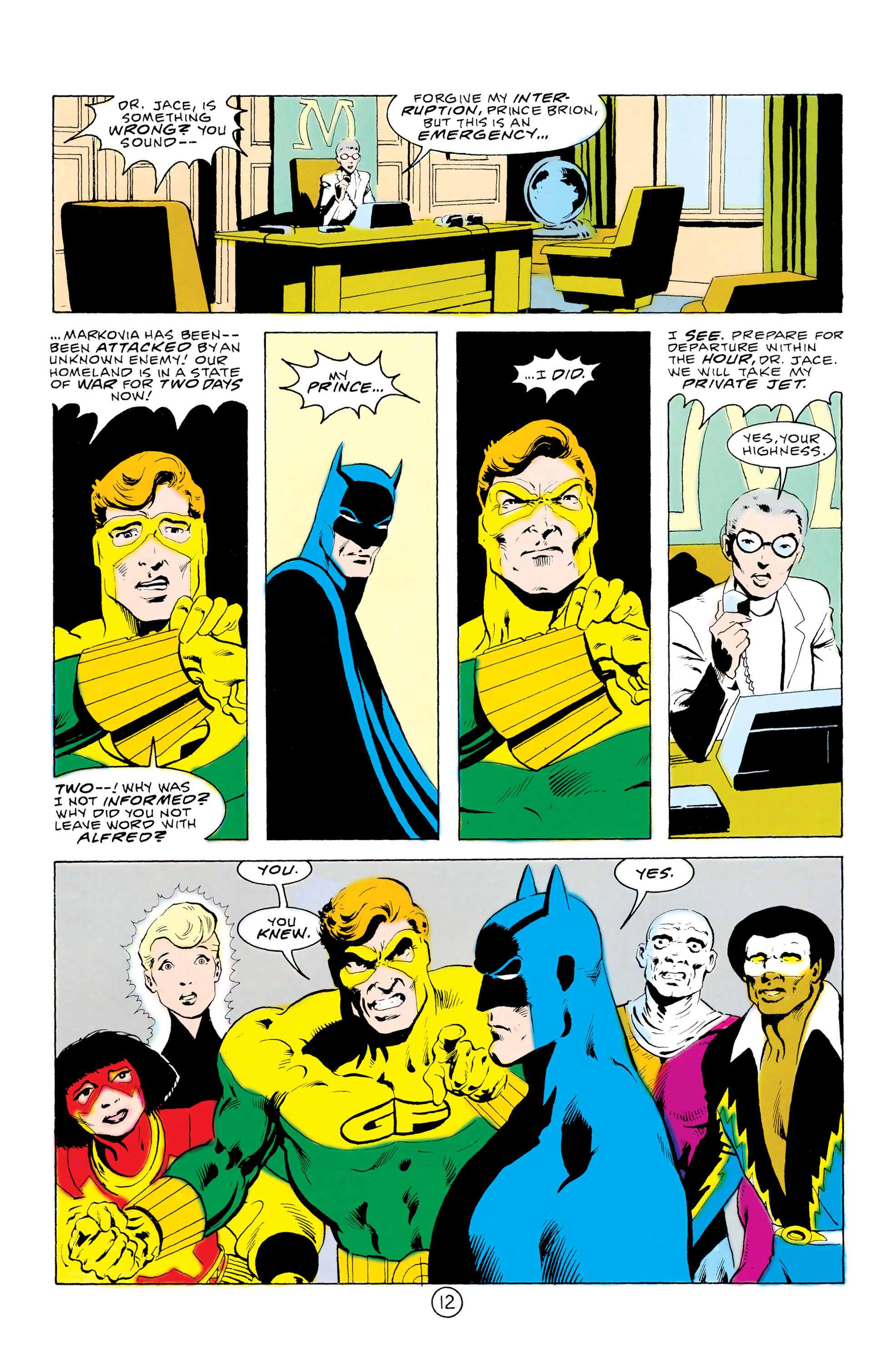 Batman and the Outsiders (1983) 32 Page 12