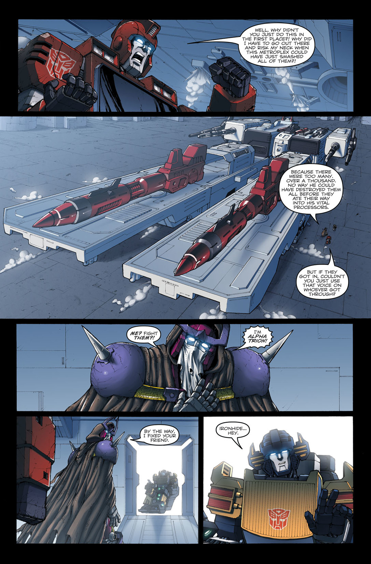Read online The Transformers: Ironhide comic -  Issue #4 - 16