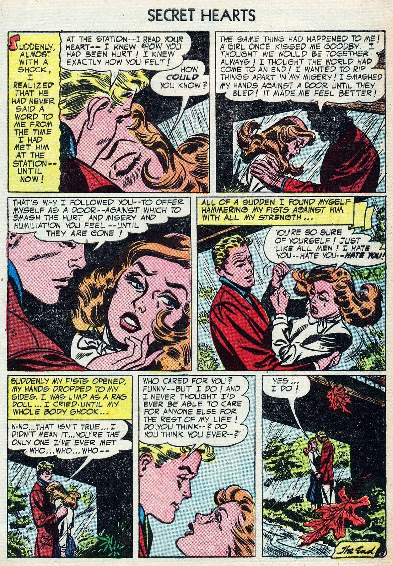 Read online Secret Hearts comic -  Issue #25 - 33