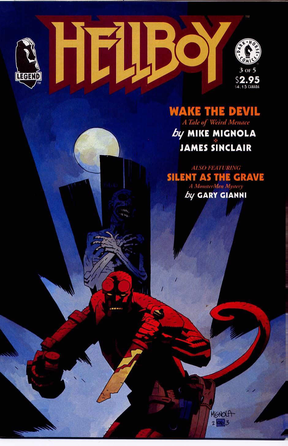 Hellboy: Wake the Devil Issue #3 #3 - English 1