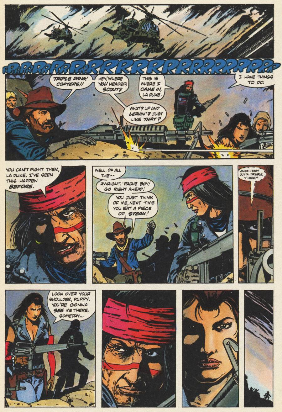 Read online Scout comic -  Issue #10 - 11