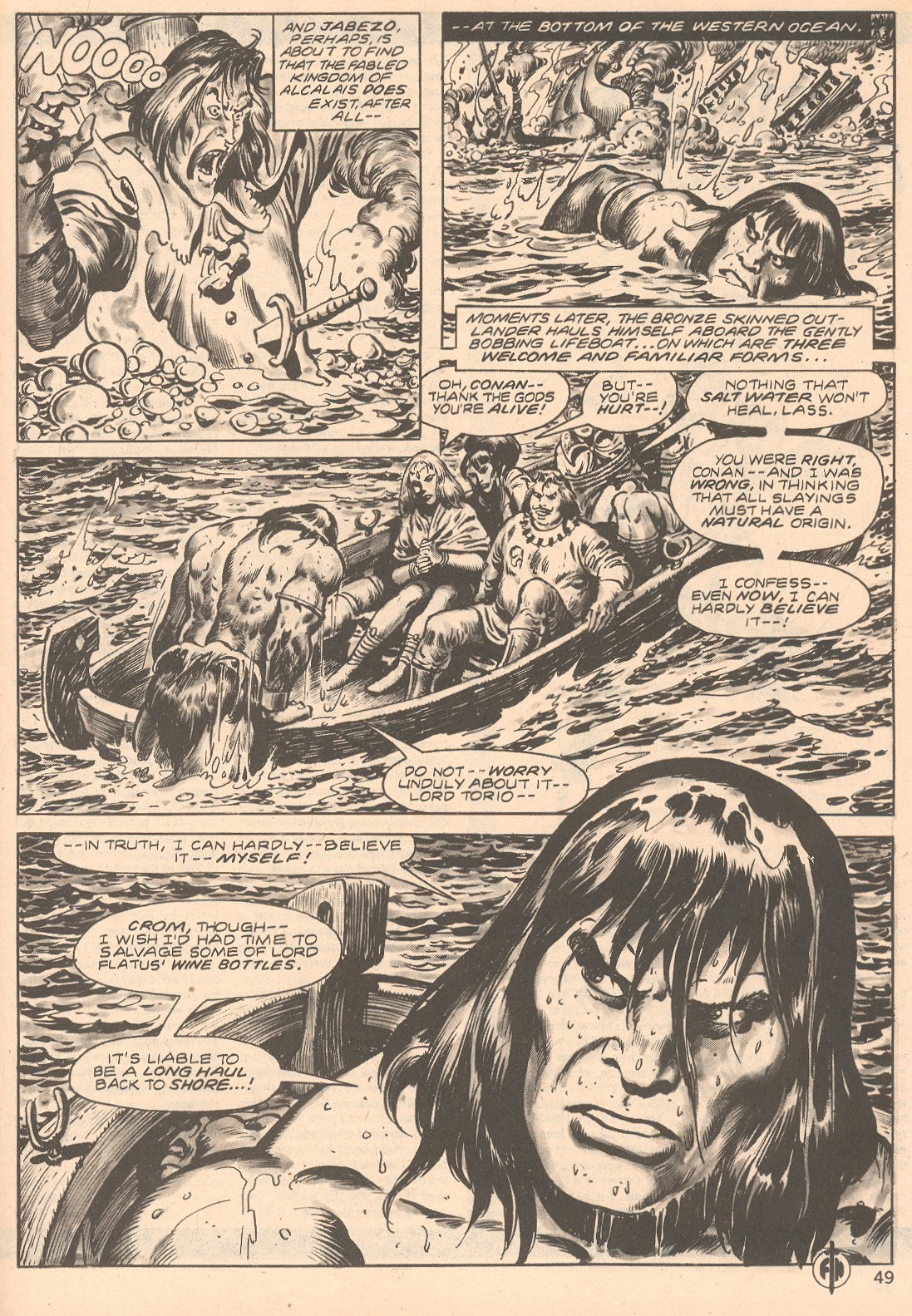 The Savage Sword Of Conan Issue #66 #67 - English 49