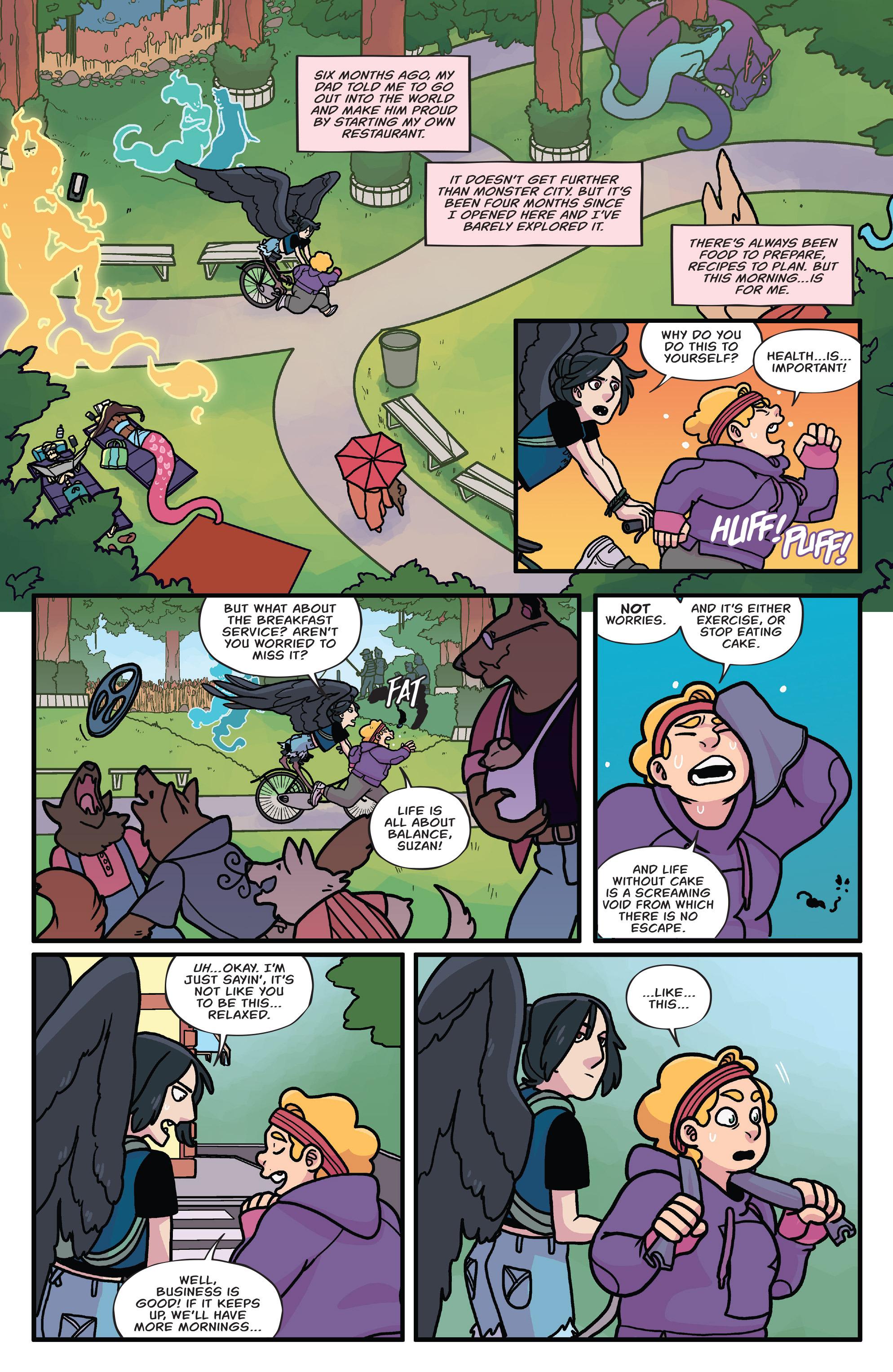 Read online Brave Chef Brianna comic -  Issue #3 - 3