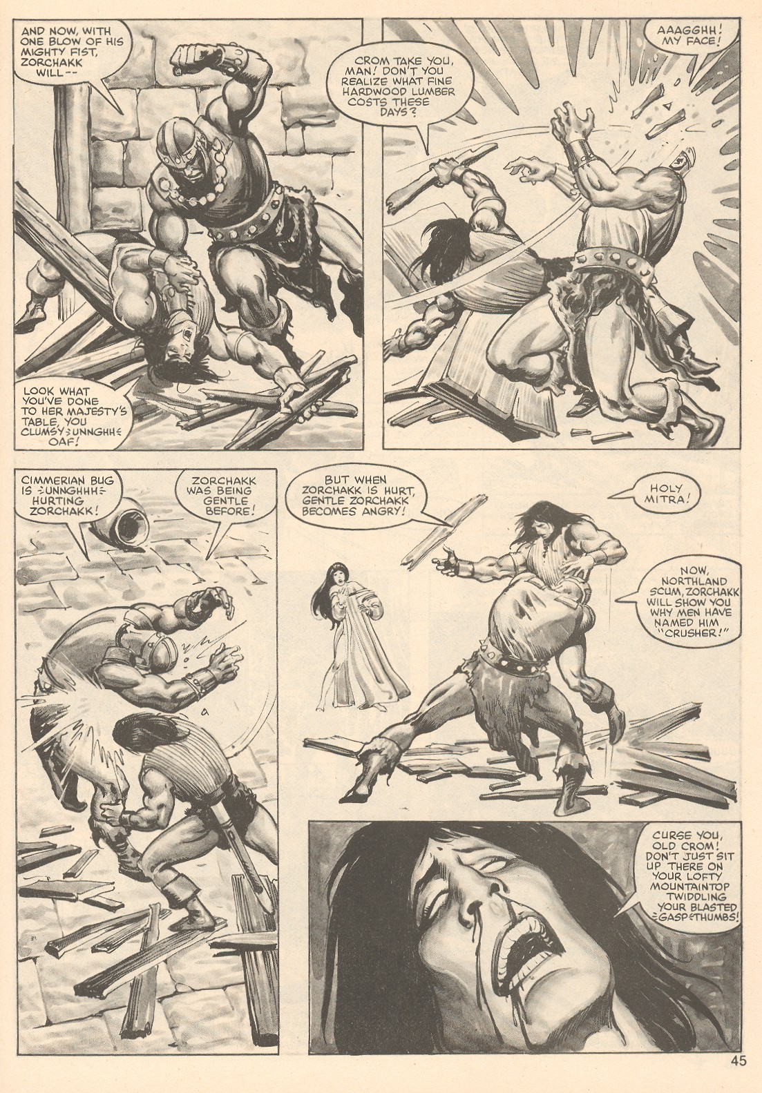 The Savage Sword Of Conan Issue #76 #77 - English 45
