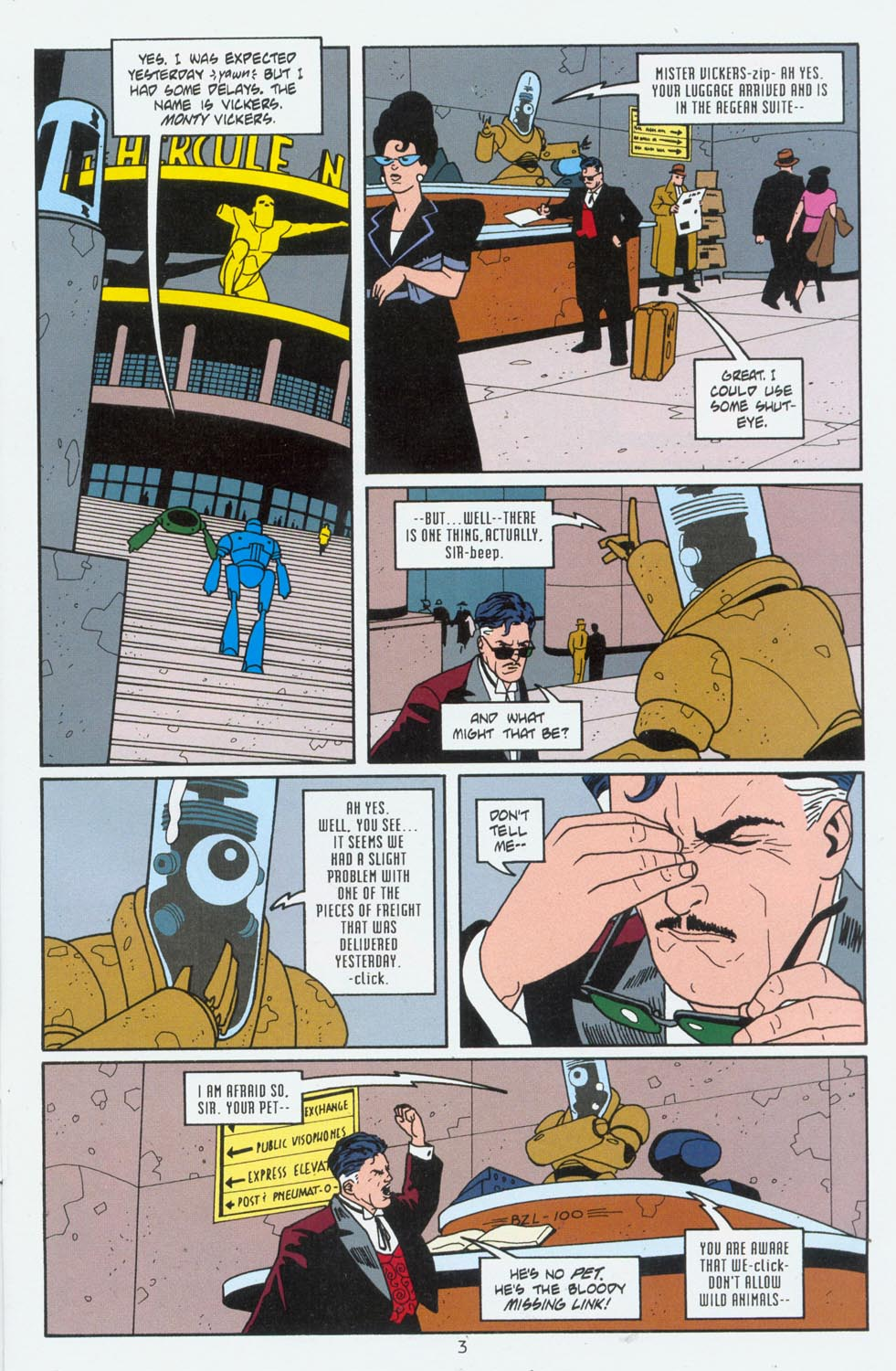 Read online Terminal City comic -  Issue #6 - 4