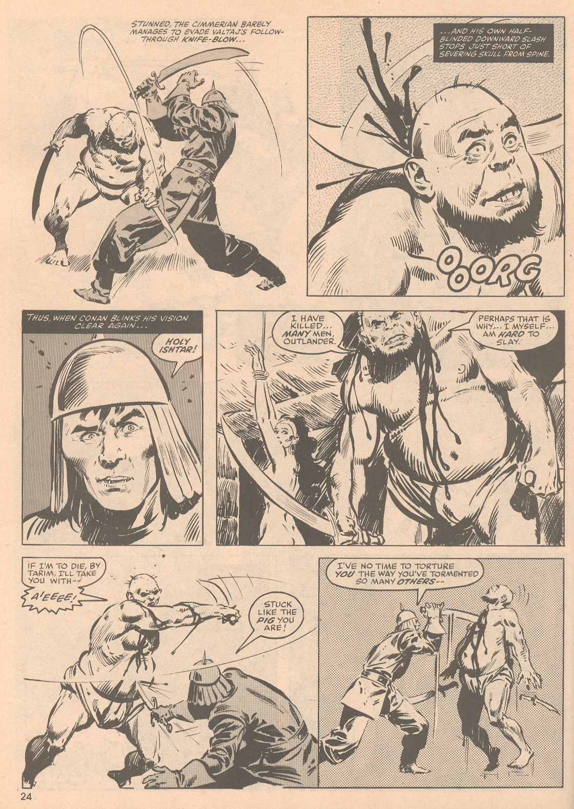 The Savage Sword Of Conan Issue #58 #59 - English 25