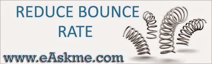Bounce Rate : eAskme