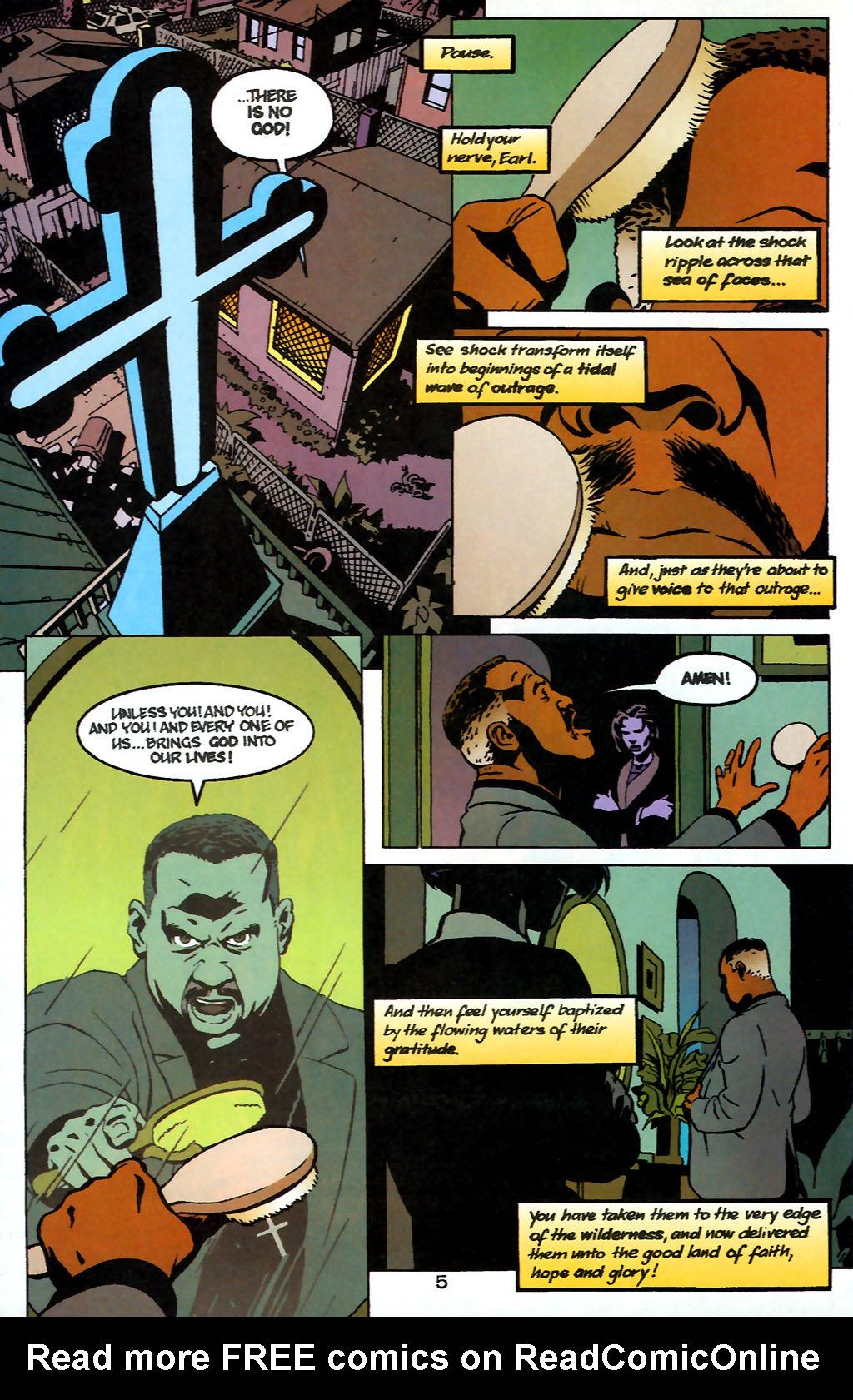 Human Target (1999) 1 Page 5
