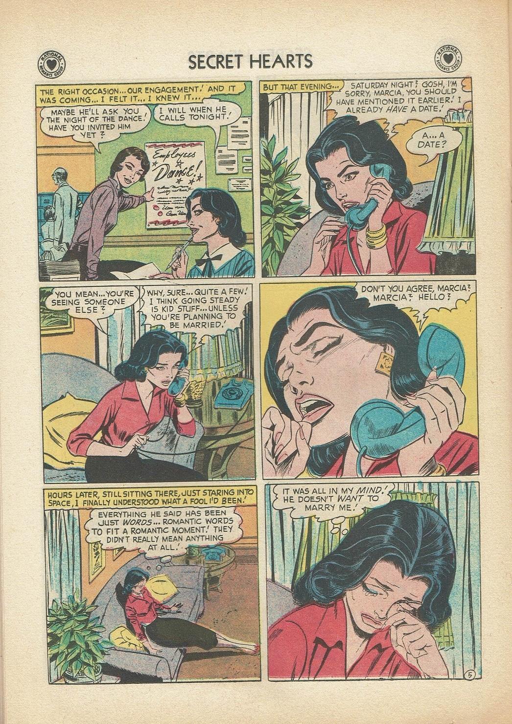 Read online Secret Hearts comic -  Issue #47 - 22