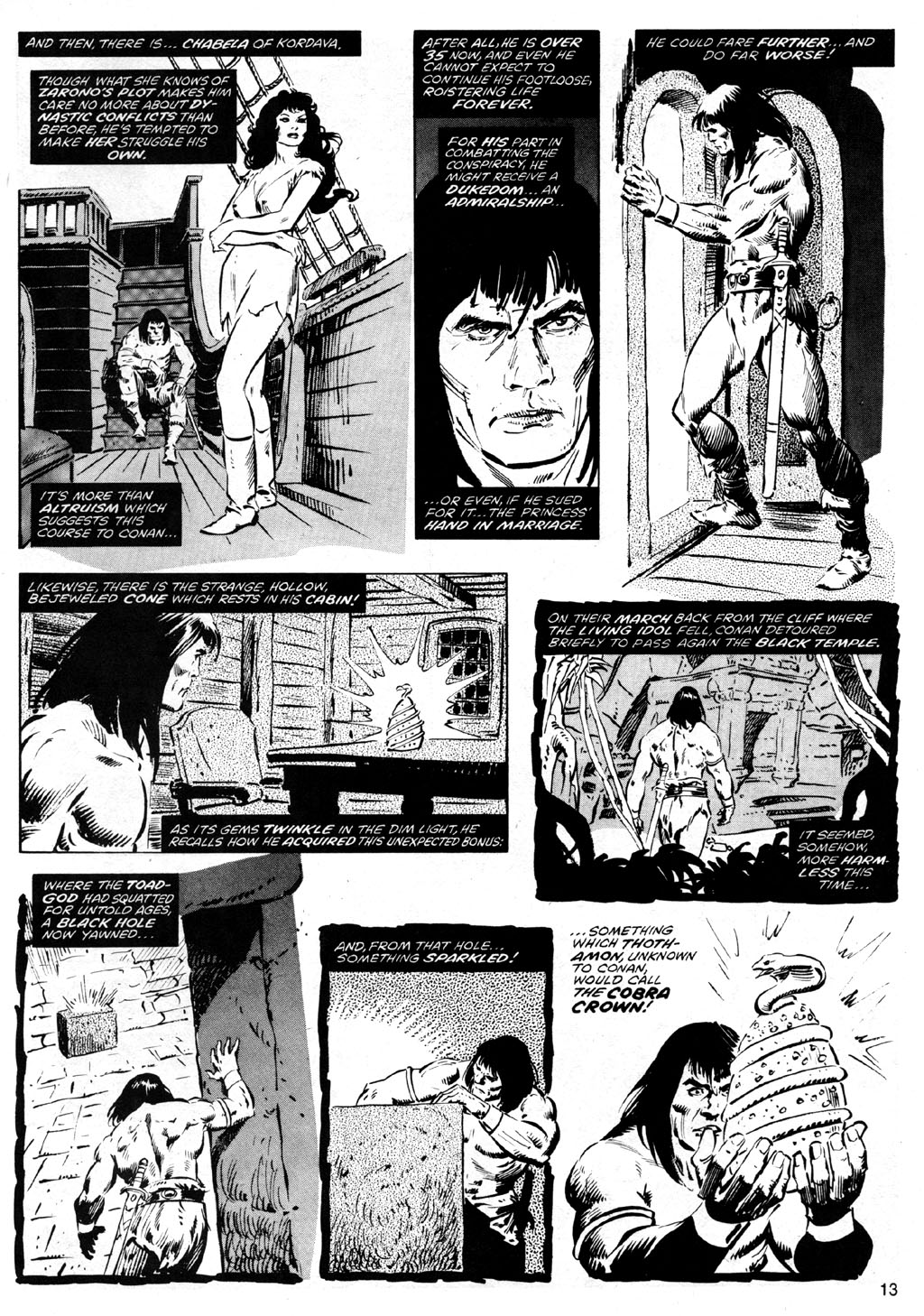 The Savage Sword Of Conan Issue #41 #42 - English 13