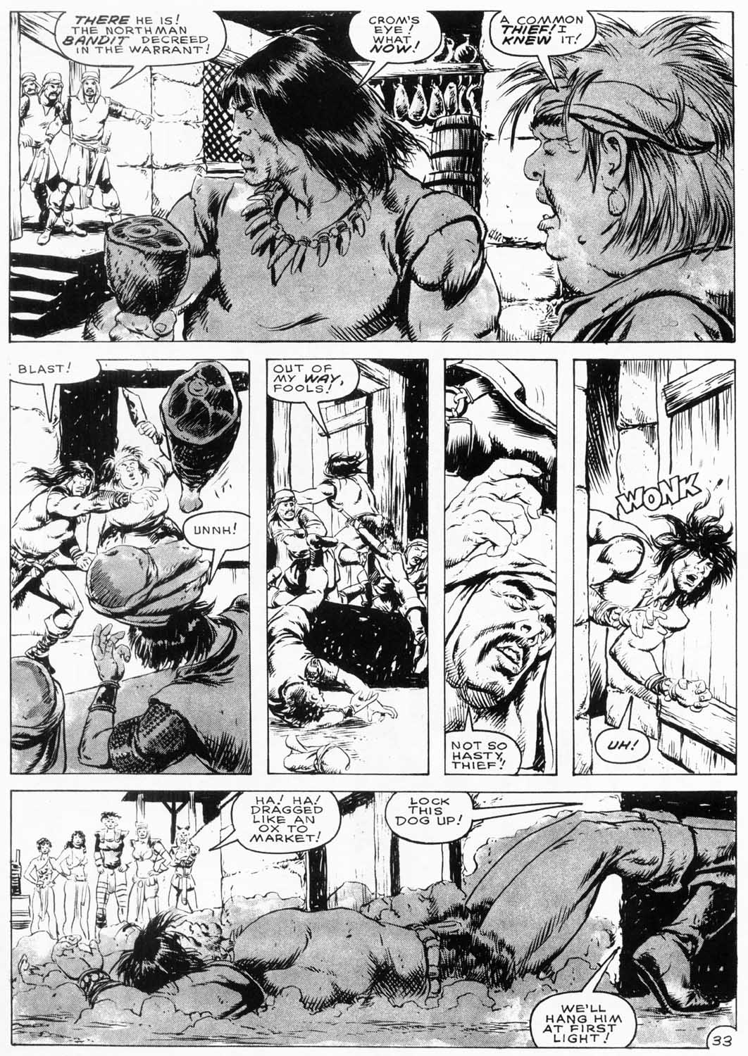 The Savage Sword Of Conan Issue #154 #155 - English 35