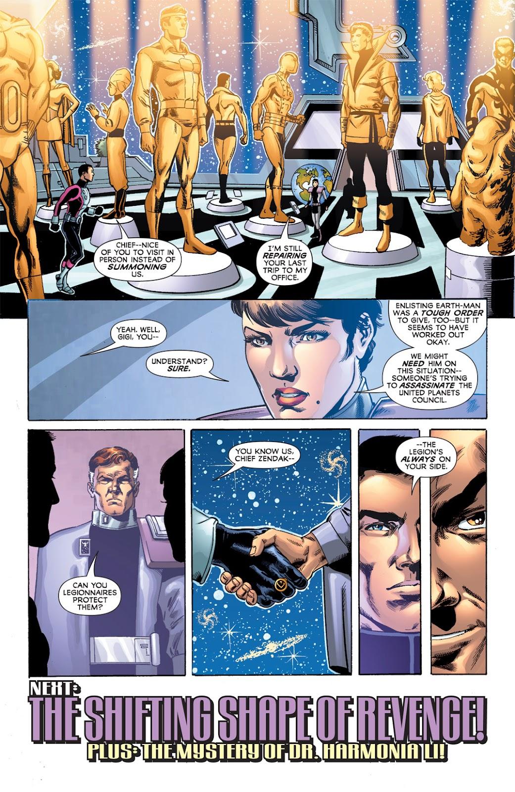Legion of Super-Heroes (2010) Issue #6 #7 - English 31