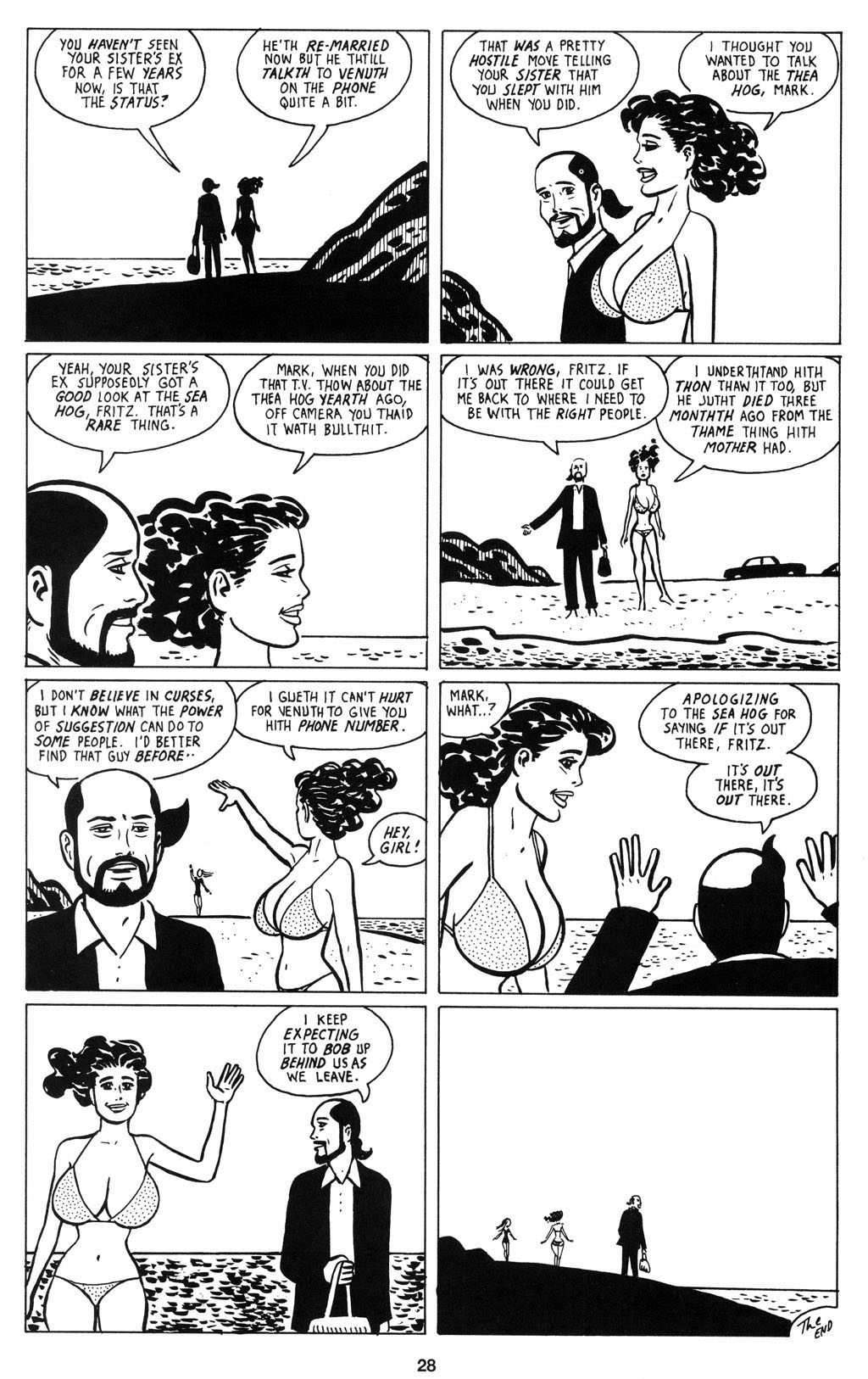 Read online Love and Rockets (2001) comic -  Issue #12 - 29