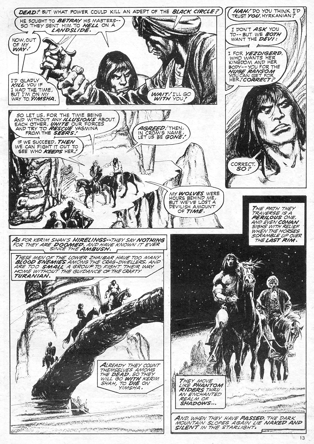 The Savage Sword Of Conan Issue #18 #19 - English 13