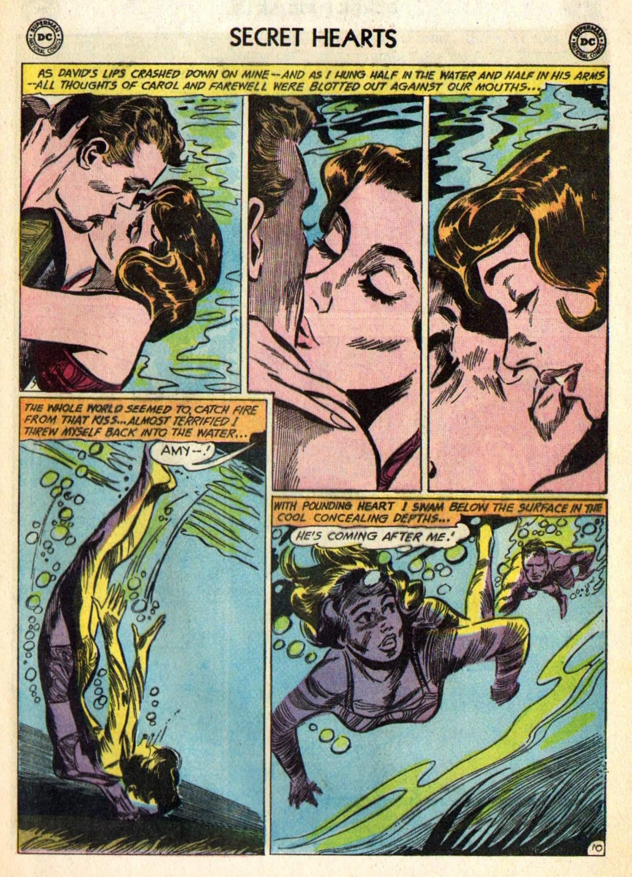 Read online Secret Hearts comic -  Issue #98 - 29