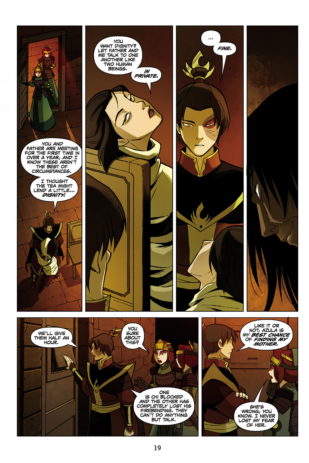 Read online Nickelodeon Avatar: The Last Airbender - The Search comic -  Issue # Part 1 - 20