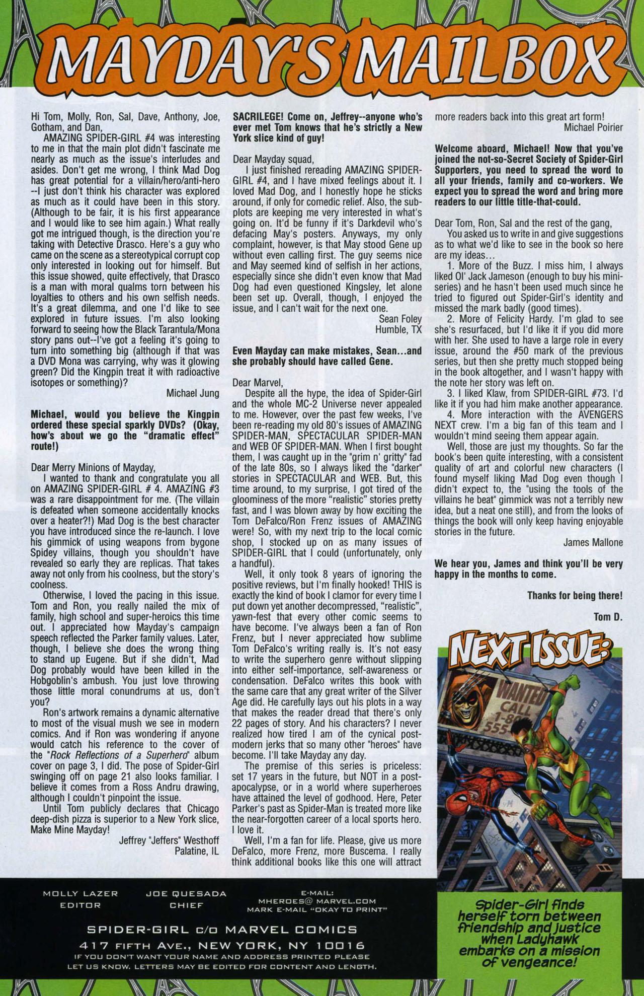 Amazing Spider-Girl #6 #25 - English 22