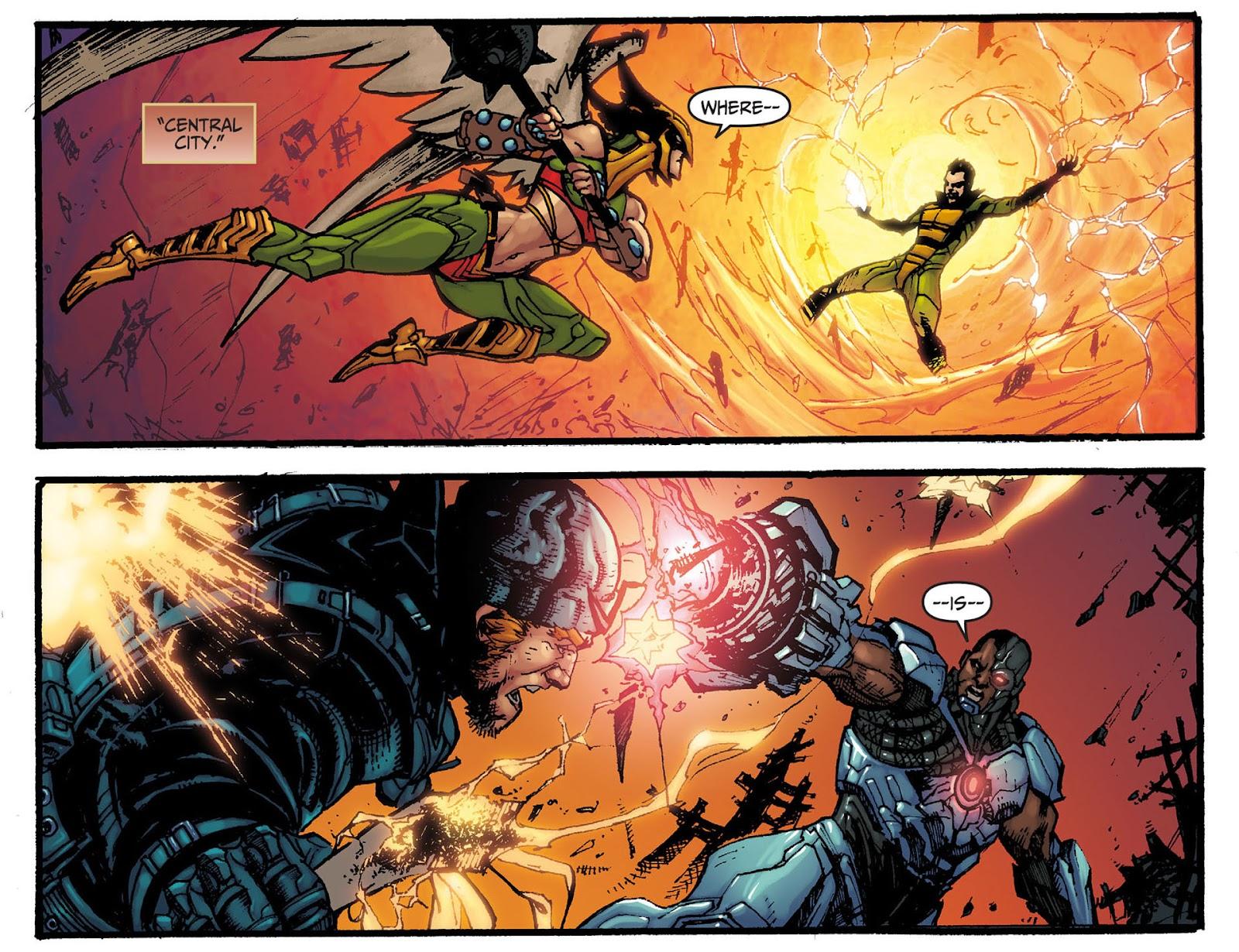 Injustice: Gods Among Us [I] Issue #8 #9 - English 7