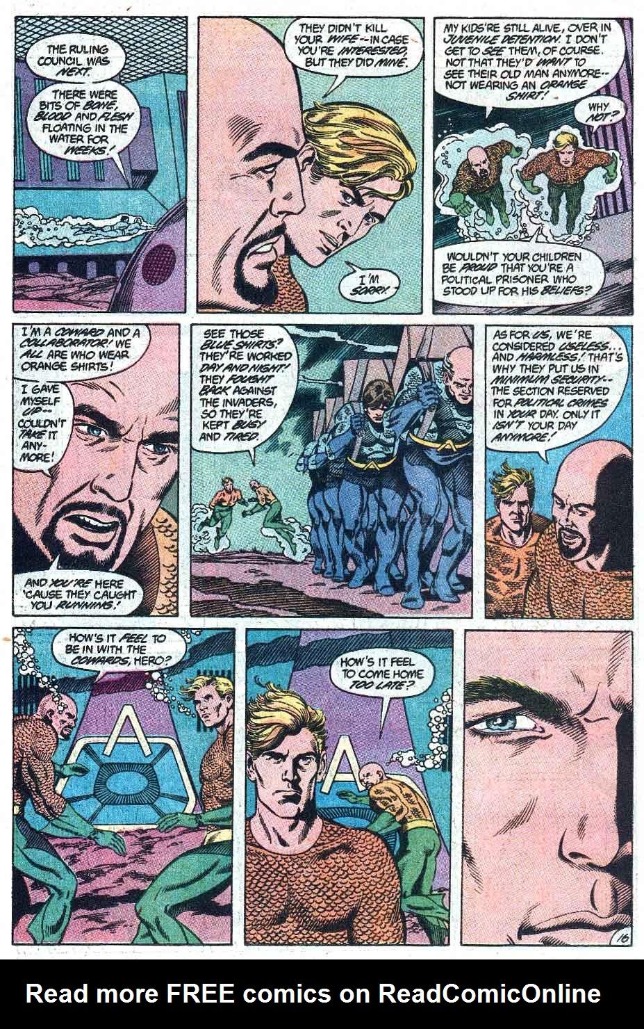 Aquaman (1989) Issue #1 #1 - English 17