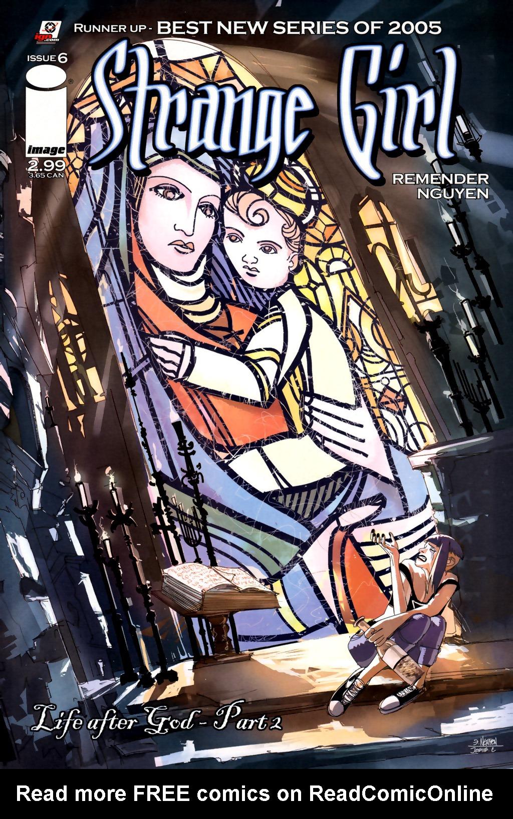 Read online Strange Girl comic -  Issue #6 - 1