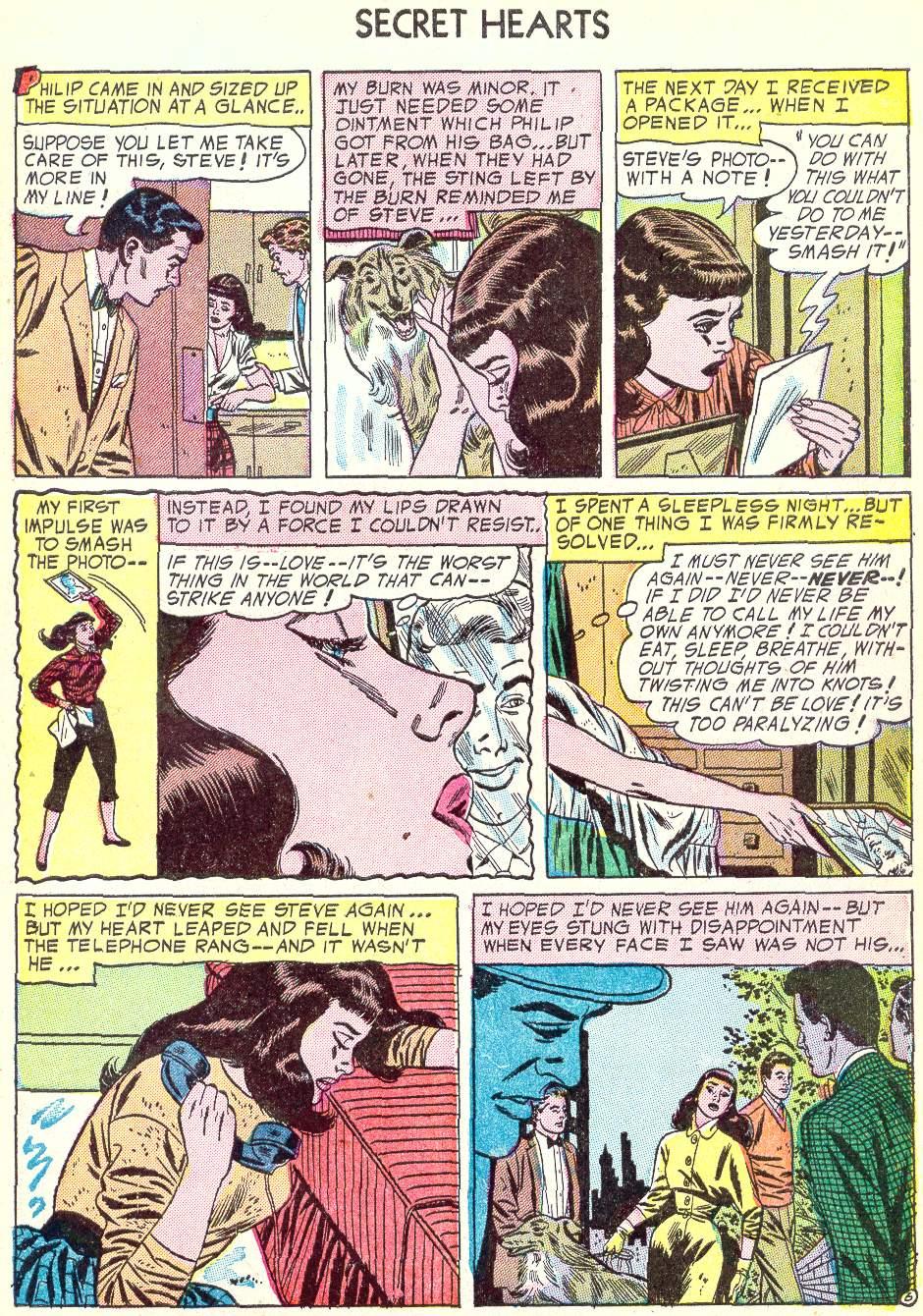 Read online Secret Hearts comic -  Issue #22 - 31