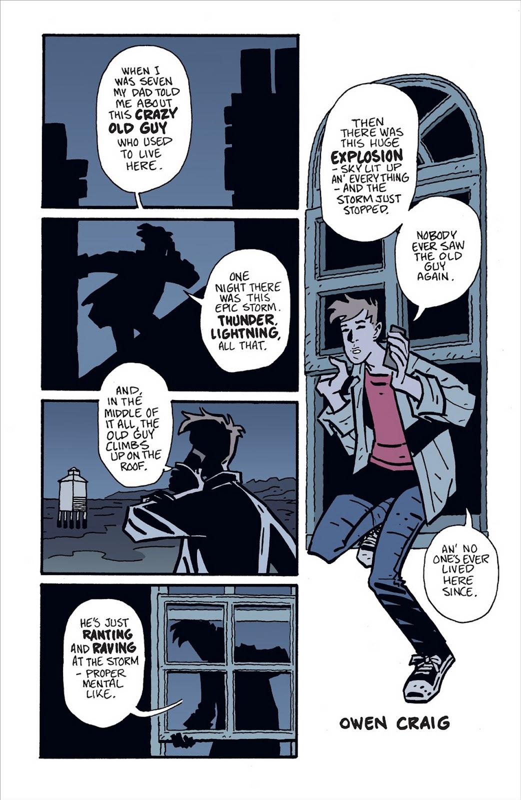 Mudman Issue #1 #1 - English 6
