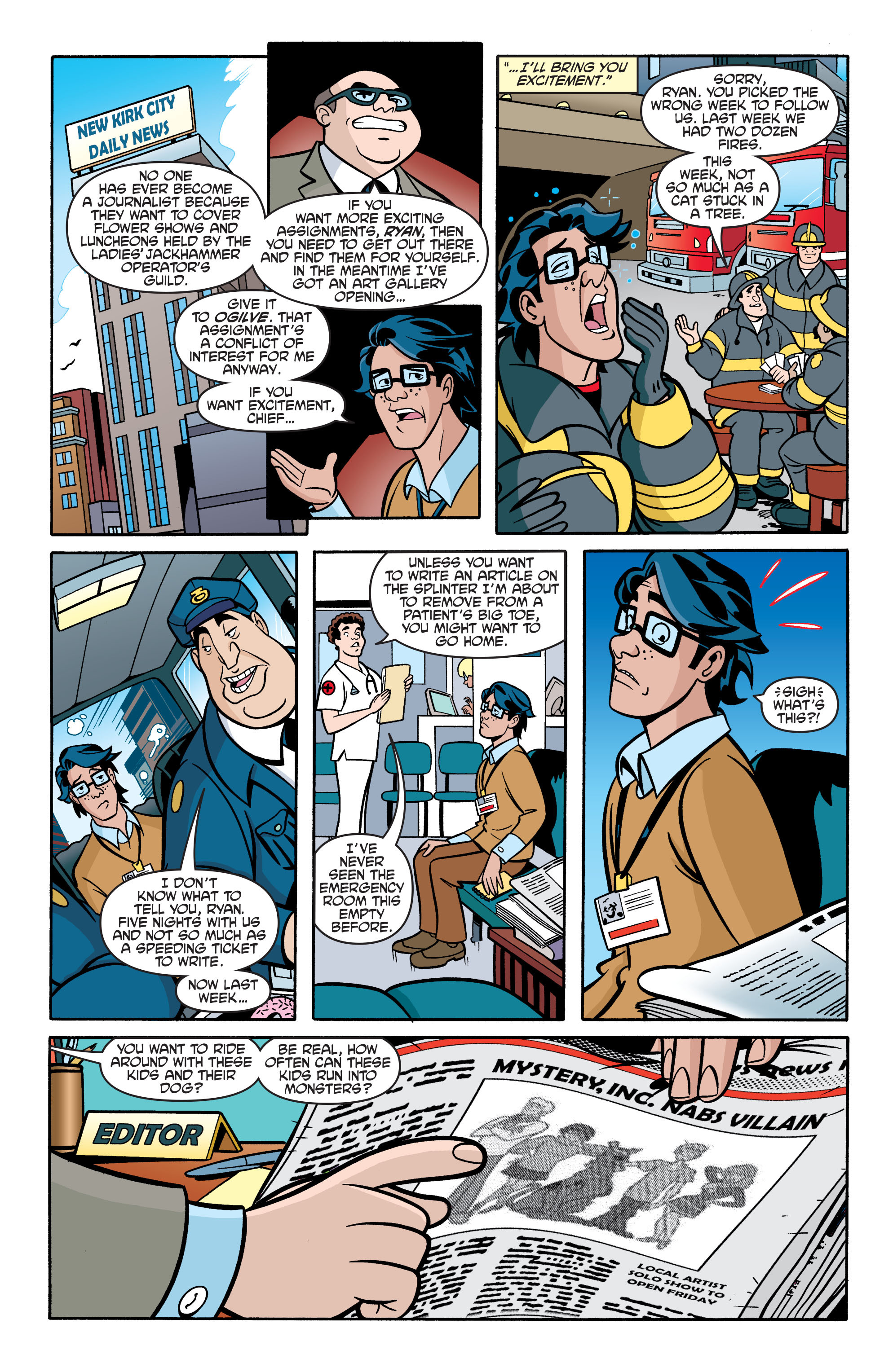 Read online Scooby-Doo: Where Are You? comic -  Issue #69 - 12