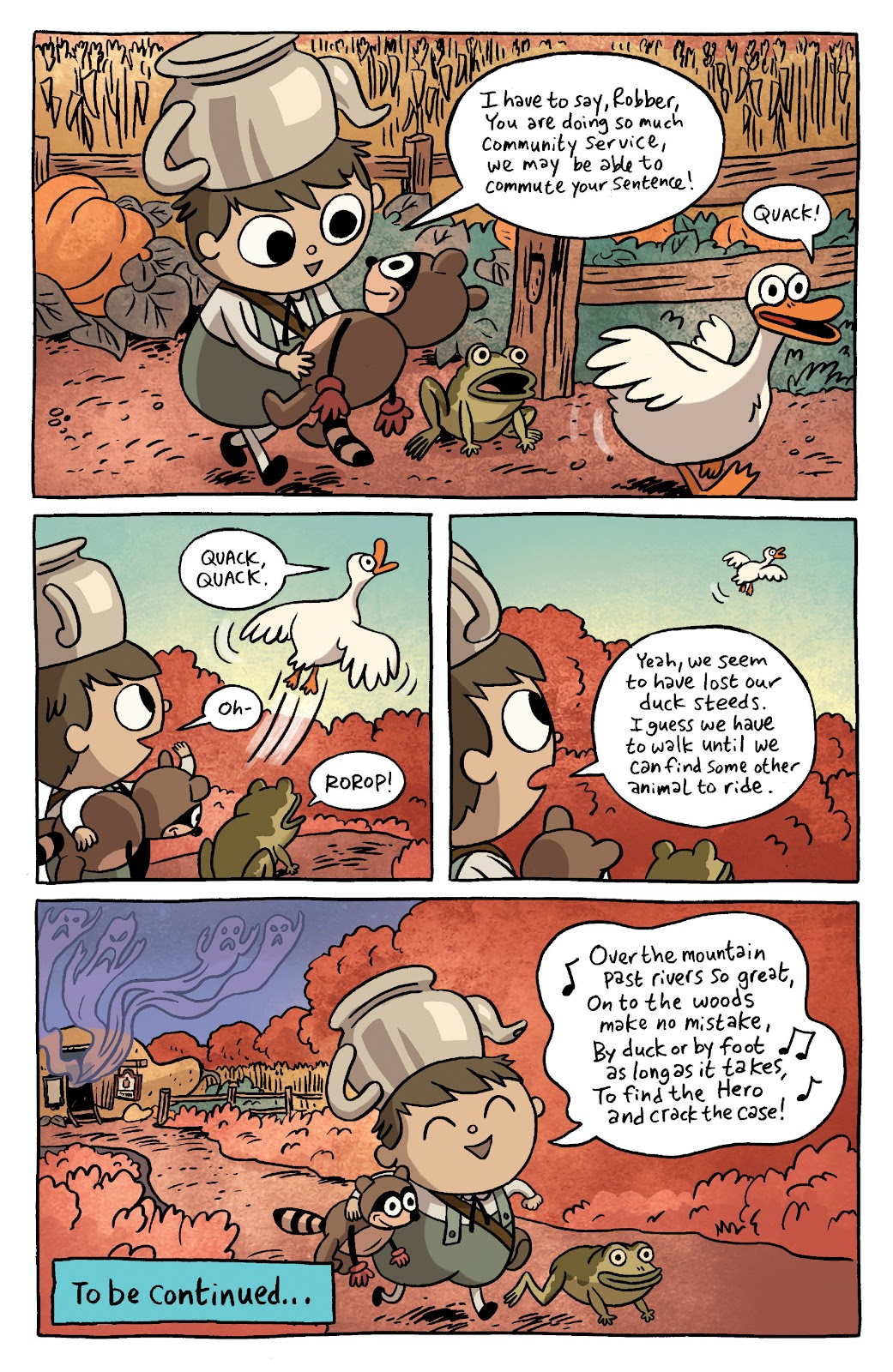Over the Garden Wall (2016) Issue #3 #3 - English 13