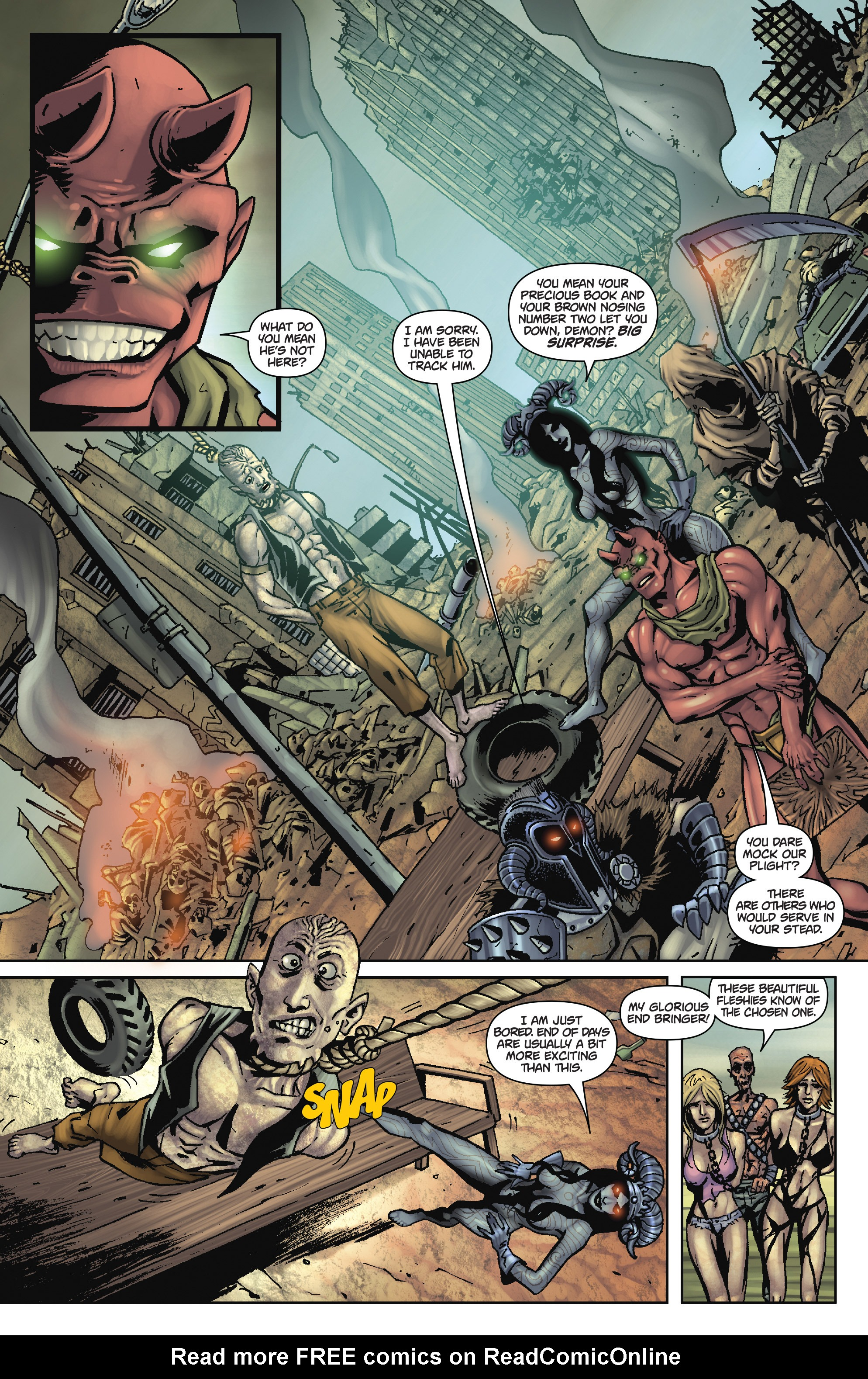 Army of Darkness: The Long Road Home TPB Page 70
