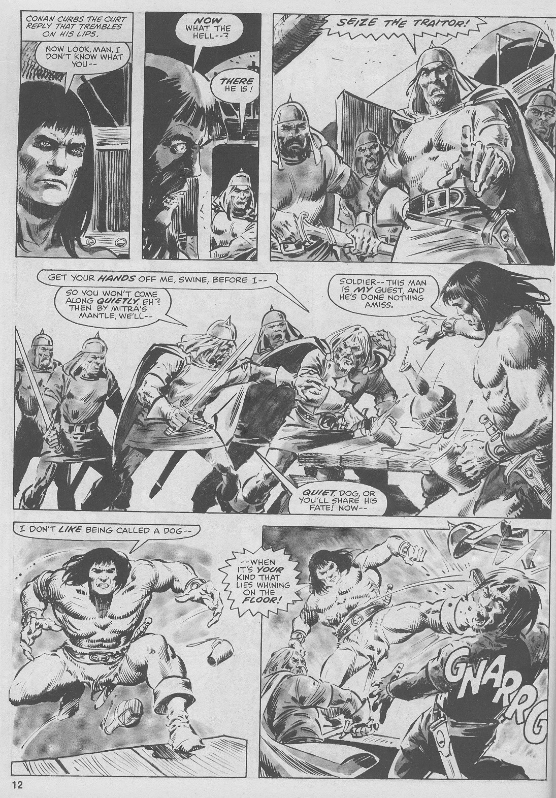 The Savage Sword Of Conan Issue #44 #45 - English 12