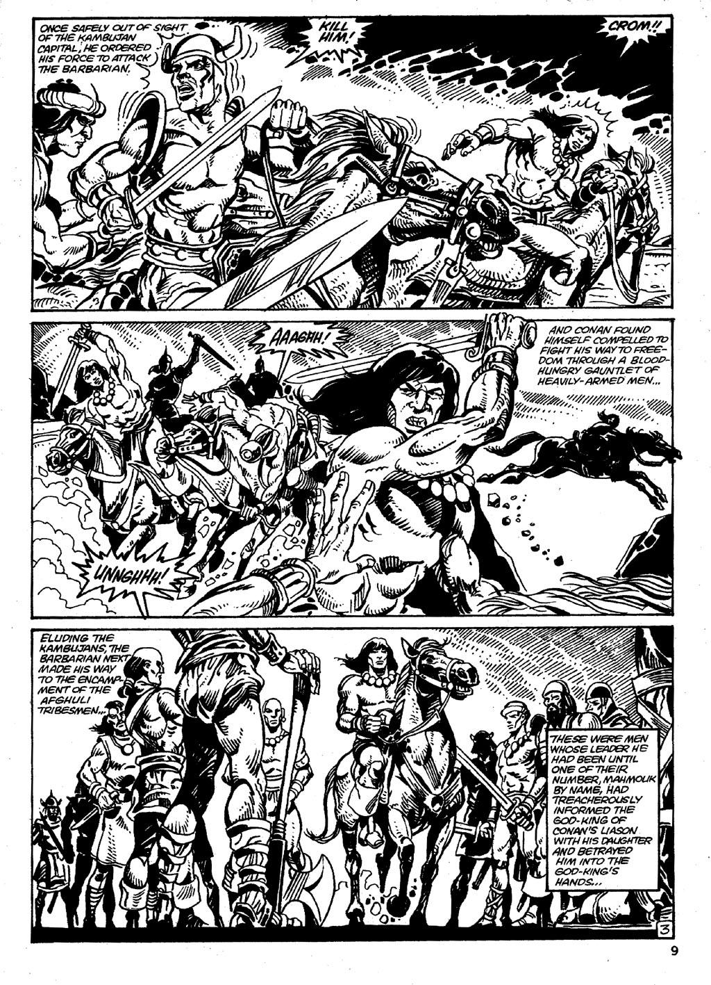 The Savage Sword Of Conan Issue #86 #87 - English 9