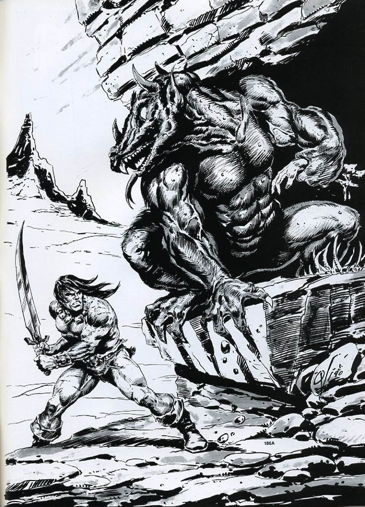 The Savage Sword Of Conan Issue #189 #190 - English 67