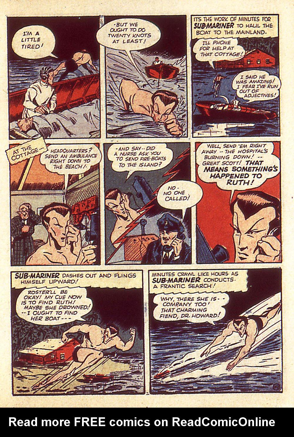 Sub-Mariner Comics Issue #4 #4 - English 22