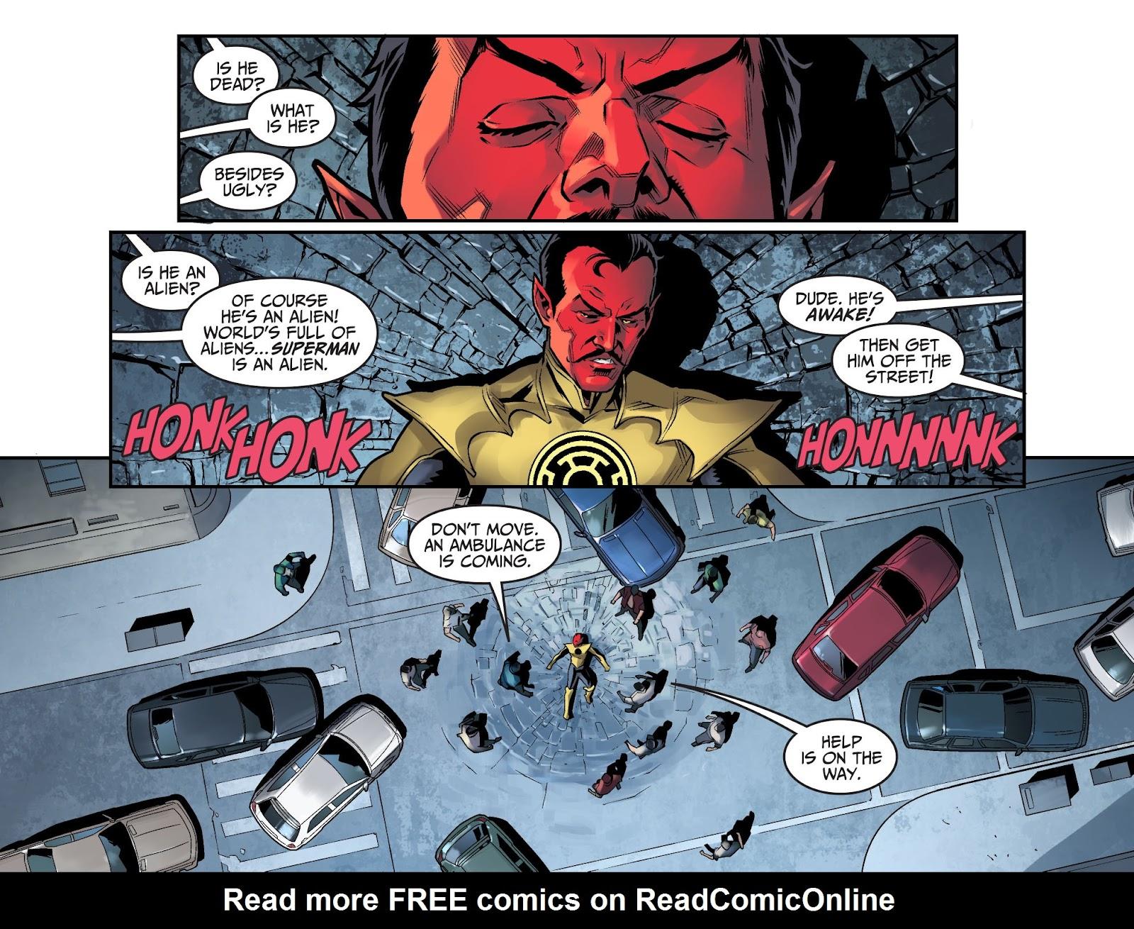 Injustice: Gods Among Us Year Four Issue #15 #16 - English 3