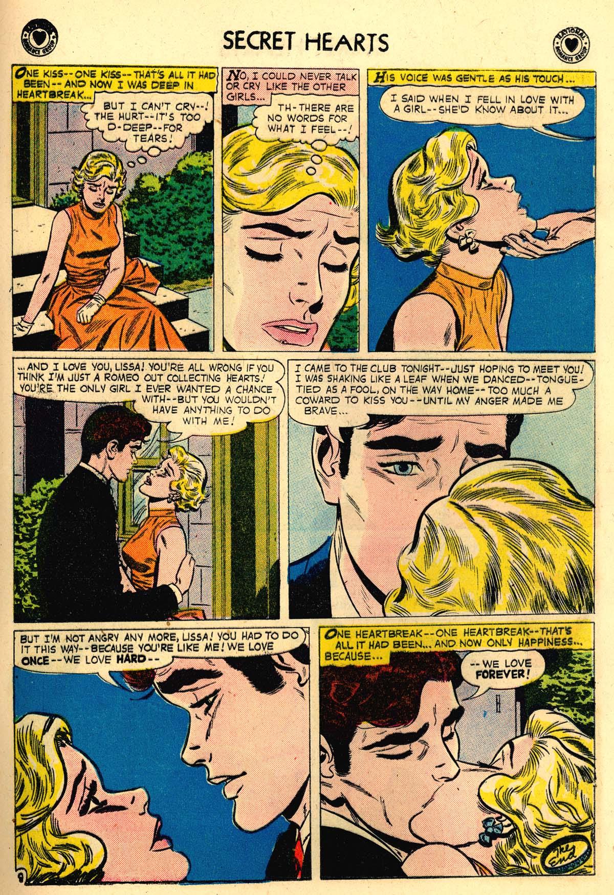 Read online Secret Hearts comic -  Issue #56 - 17