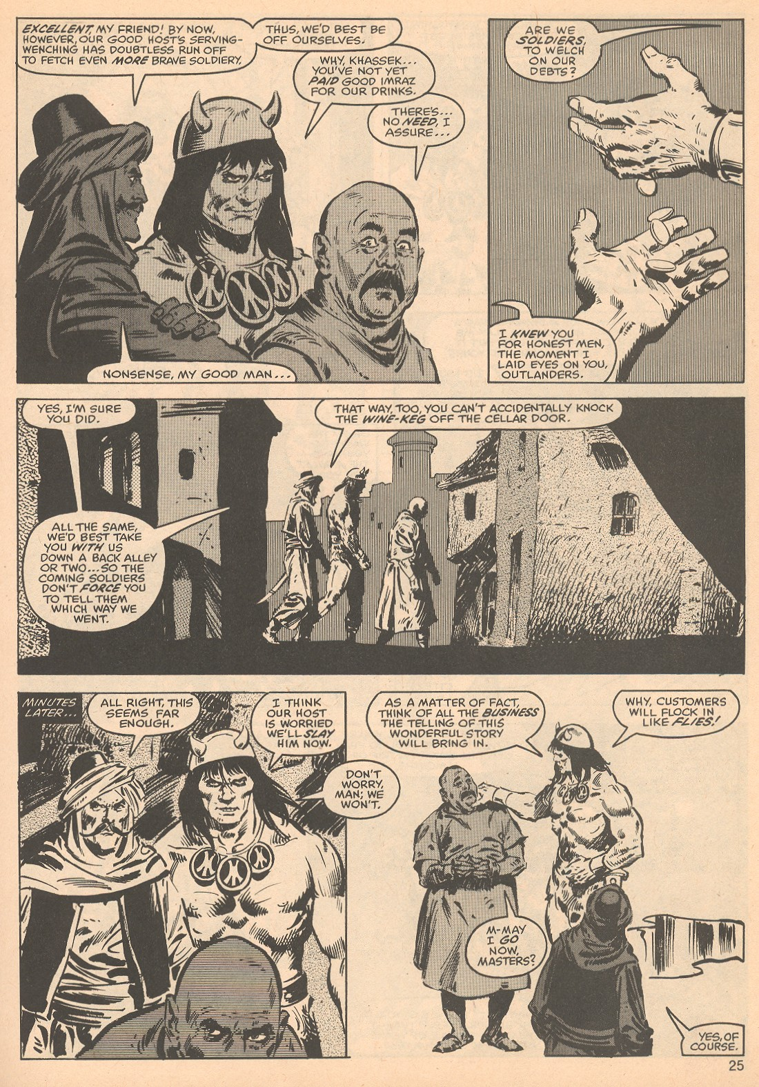 The Savage Sword Of Conan Issue #56 #57 - English 25