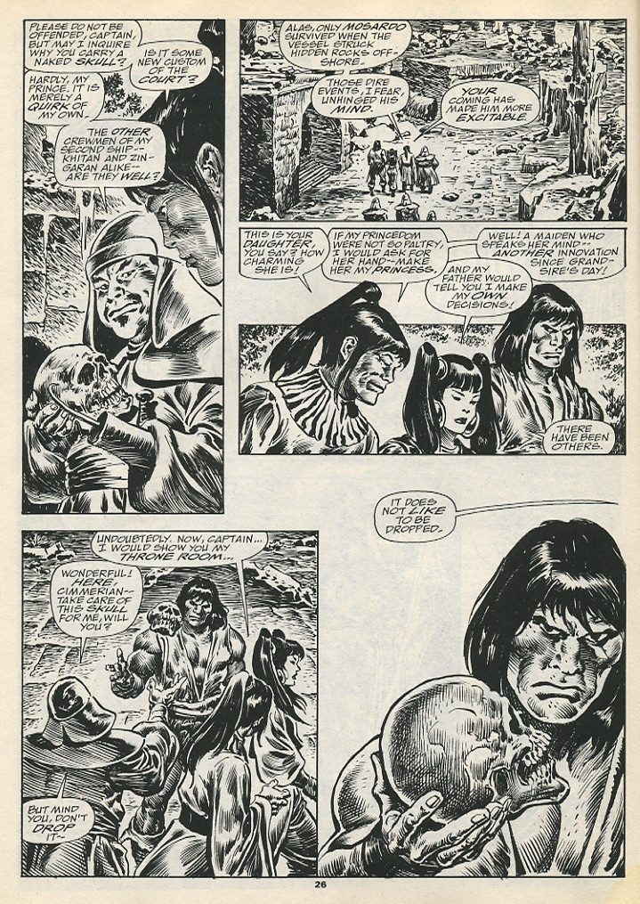 The Savage Sword Of Conan Issue #192 #193 - English 28