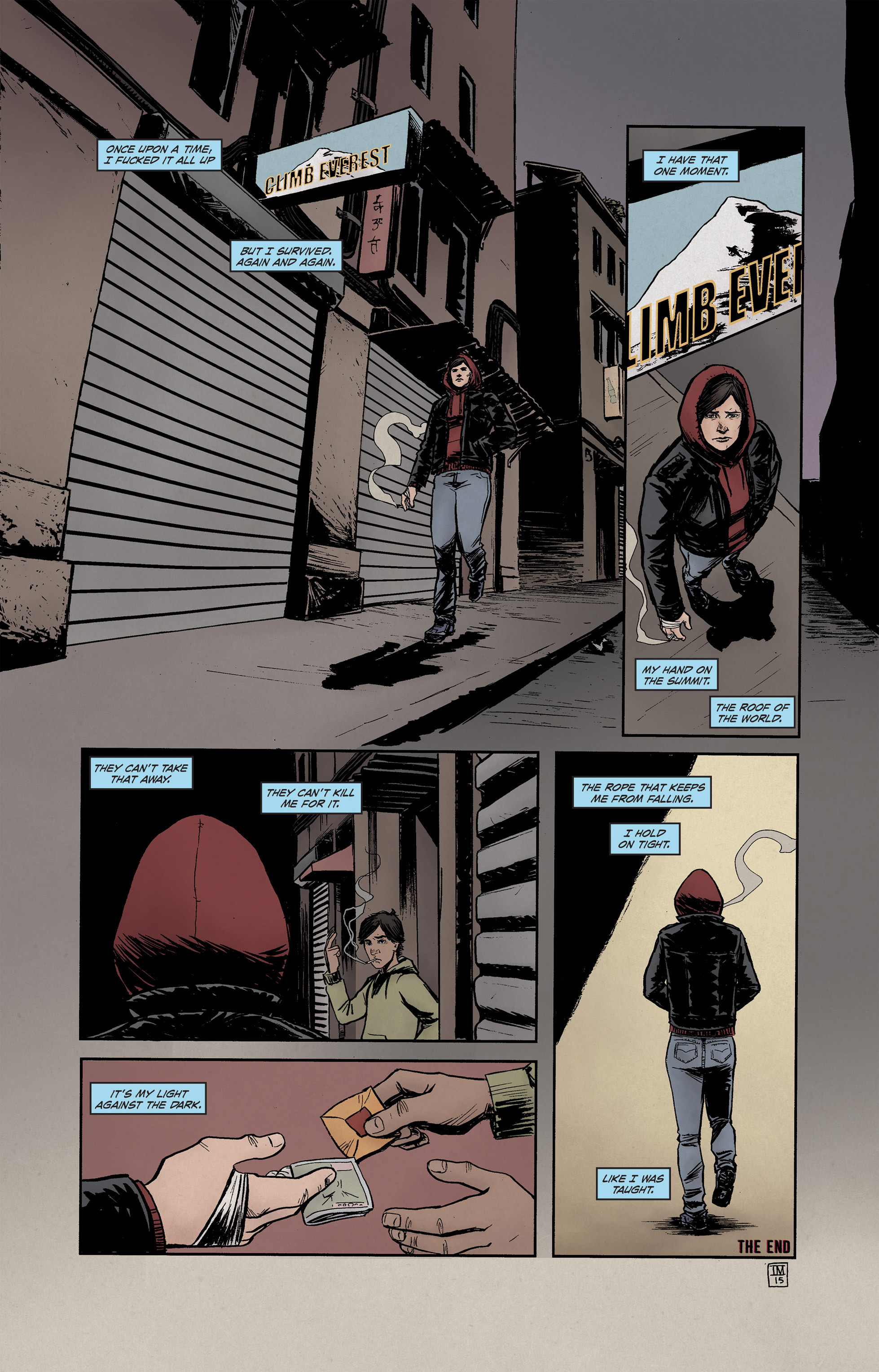 Read online High Crimes comic -  Issue #12 - 17