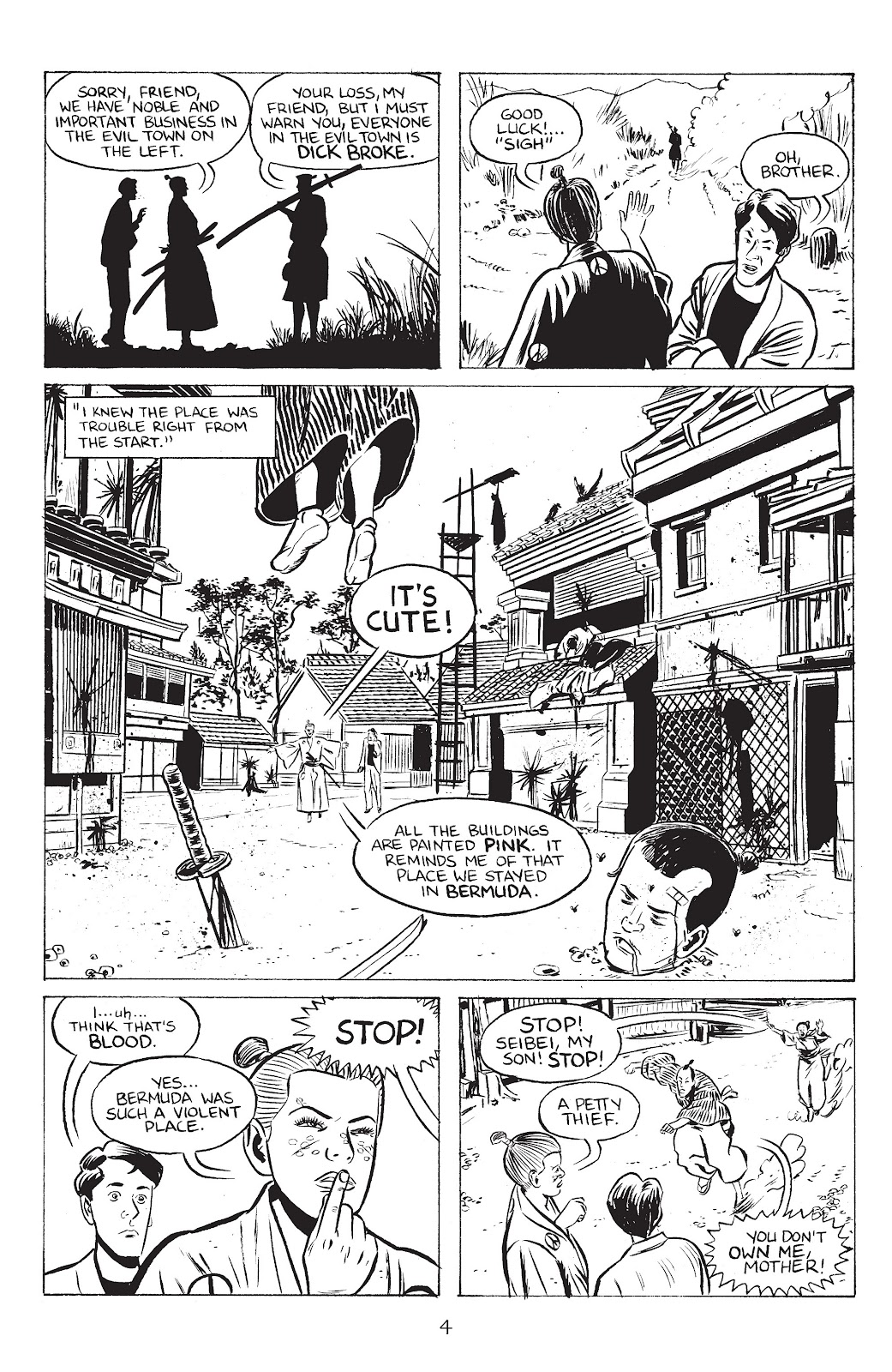 Stray Bullets Issue #39 #39 - English 6