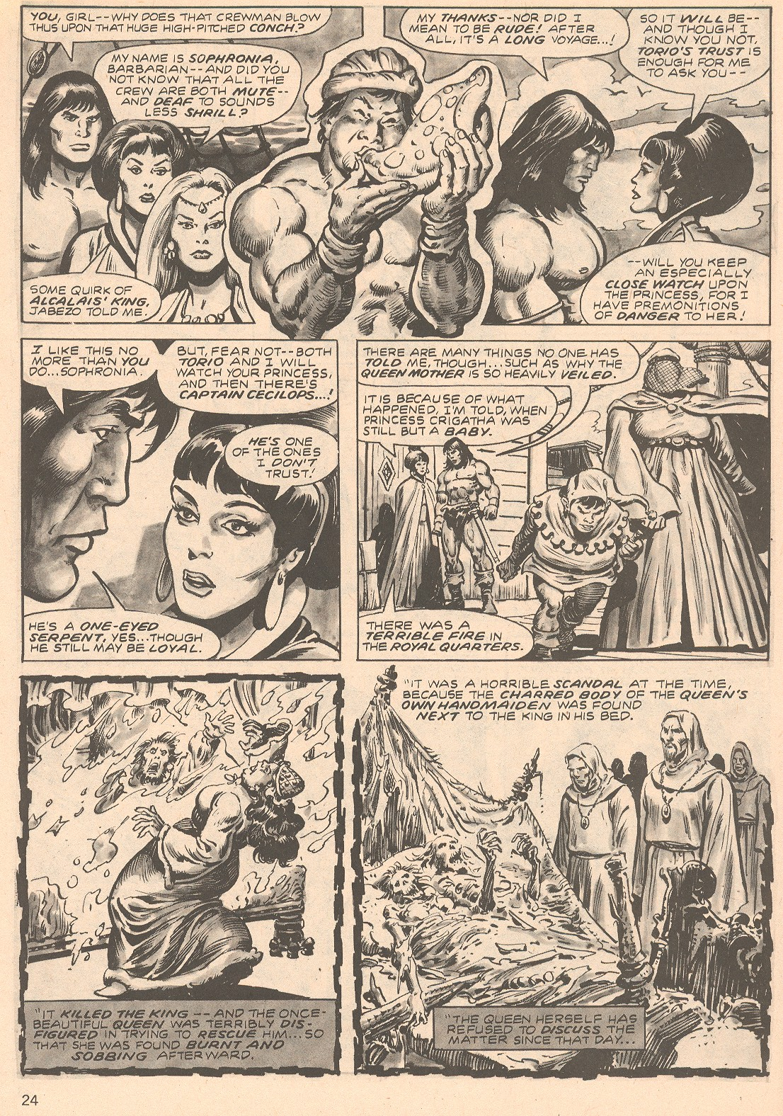 The Savage Sword Of Conan Issue #66 #67 - English 24