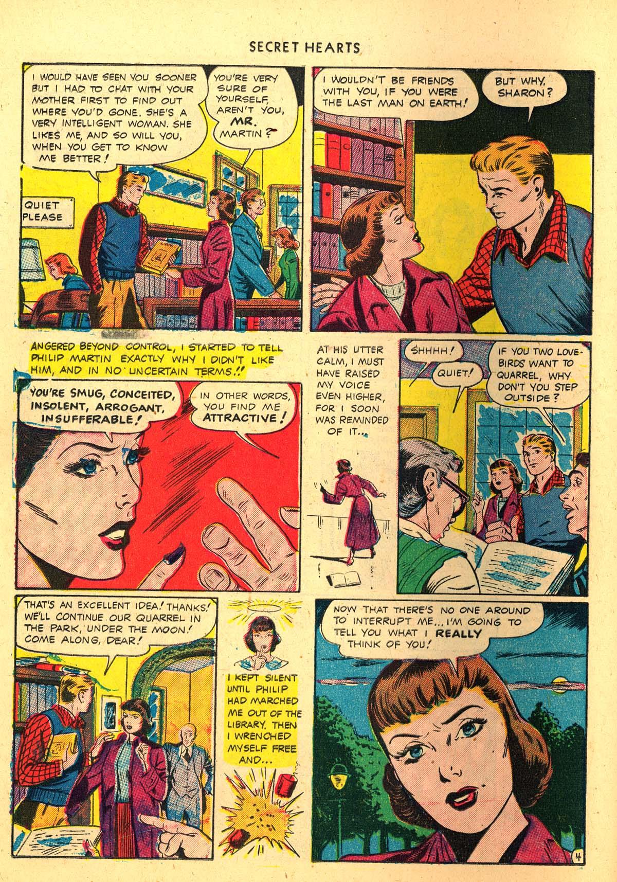 Read online Secret Hearts comic -  Issue #4 - 32