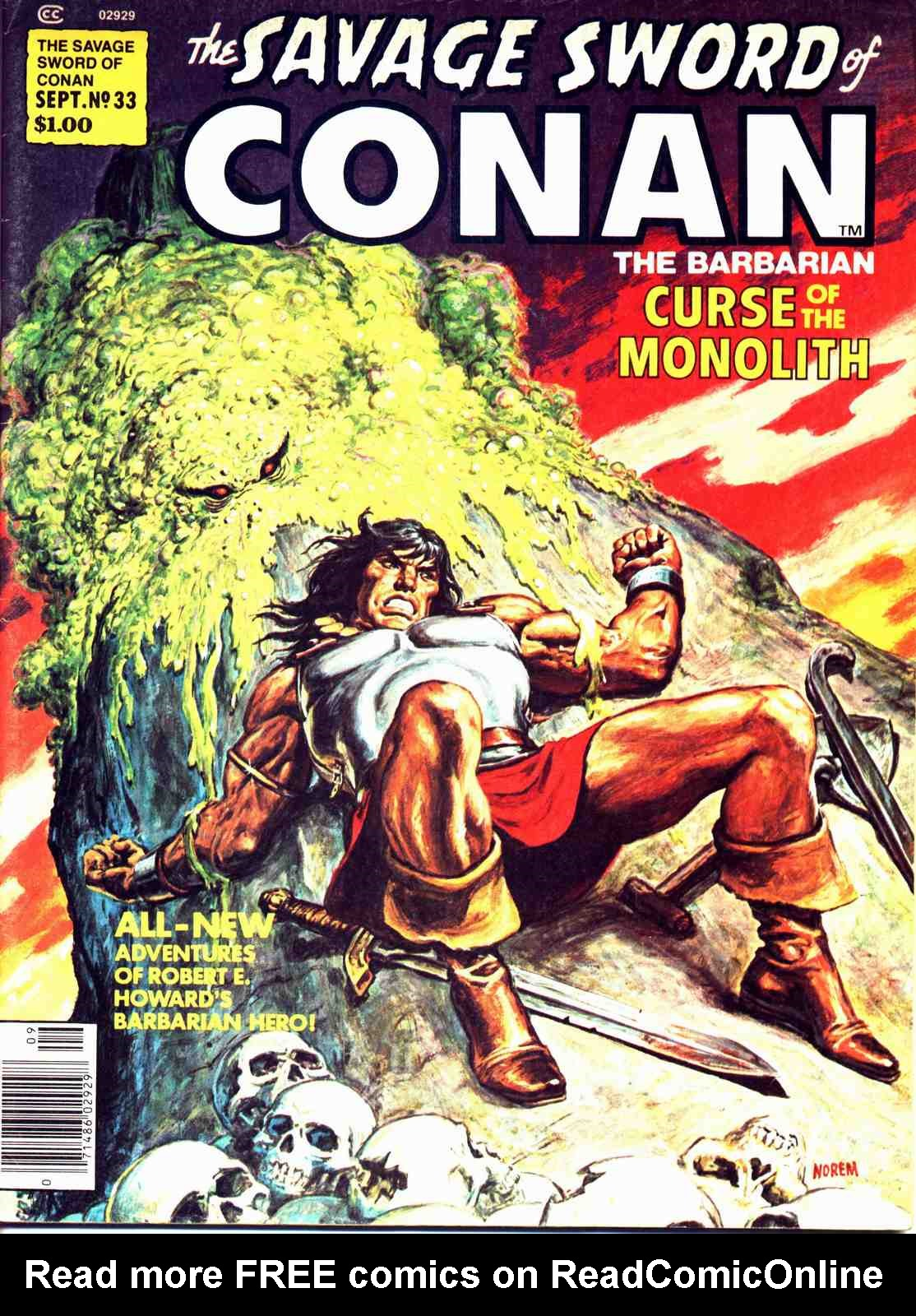 The Savage Sword Of Conan Issue #33 #34 - English 1