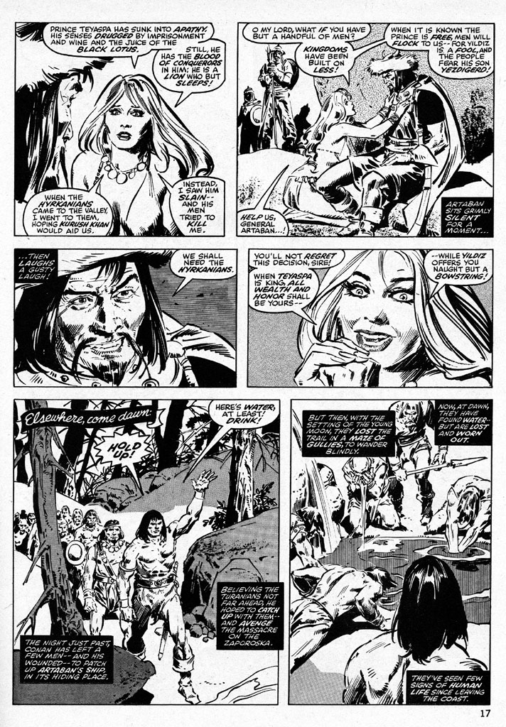 The Savage Sword Of Conan Issue #38 #39 - English 17