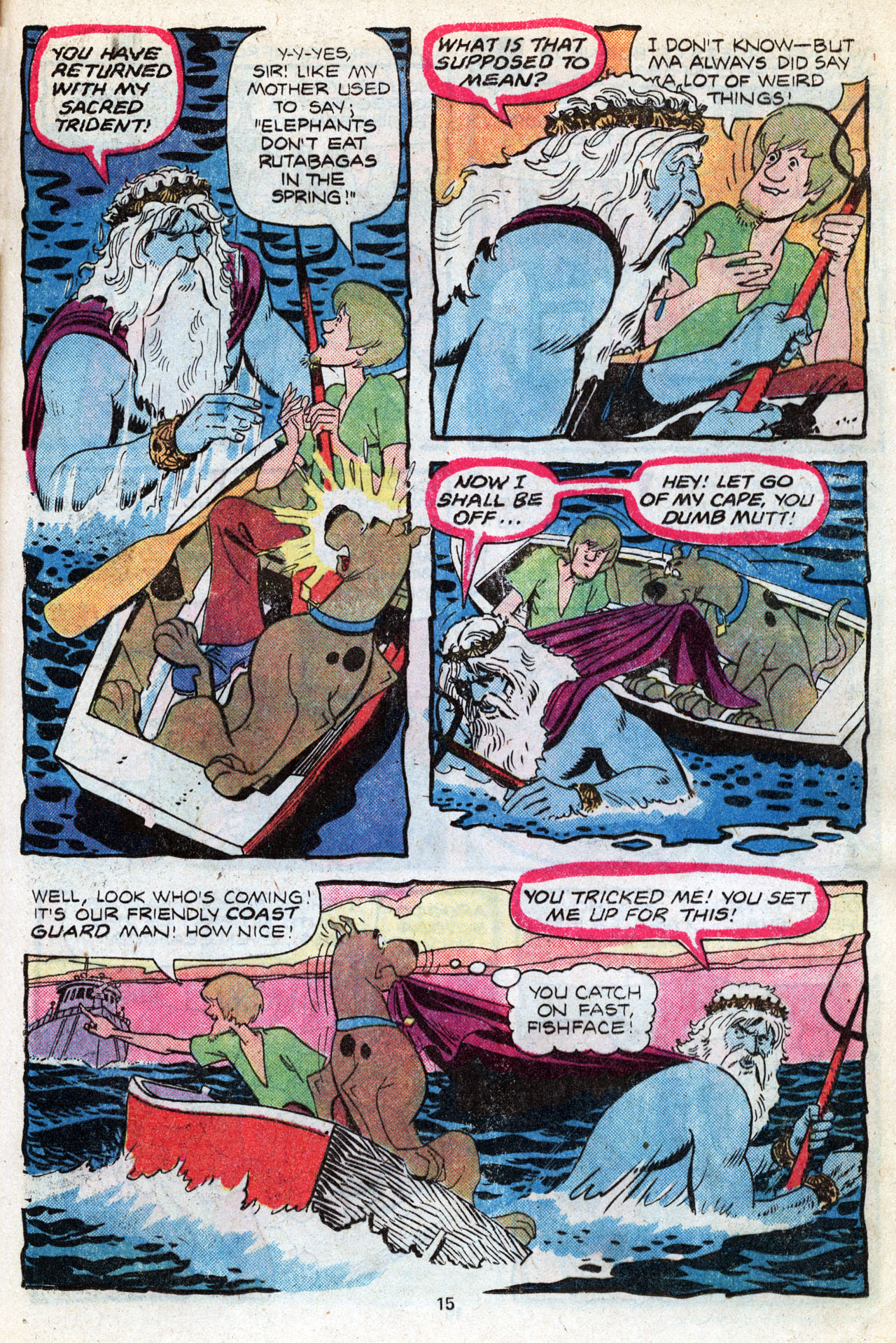 Read online Scooby-Doo (1977) comic -  Issue #3 - 17