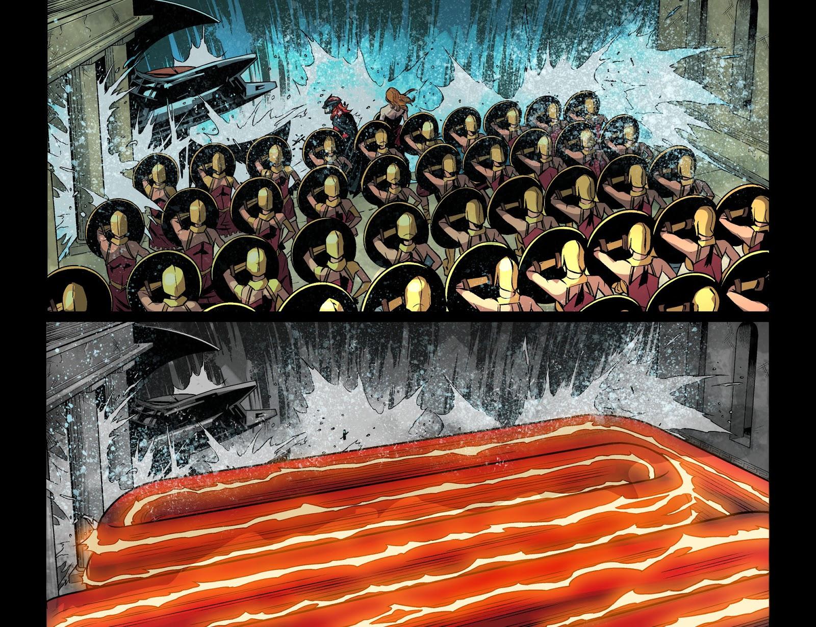 Injustice: Gods Among Us Year Four Issue #20 #21 - English 12