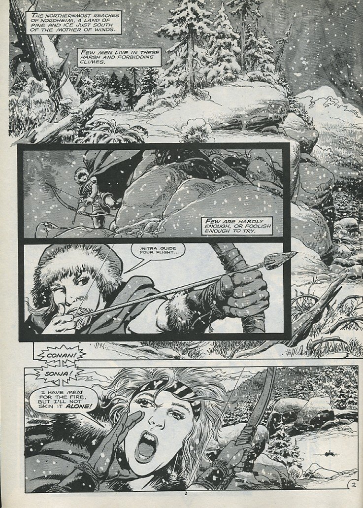 The Savage Sword Of Conan Issue #179 #180 - English 4