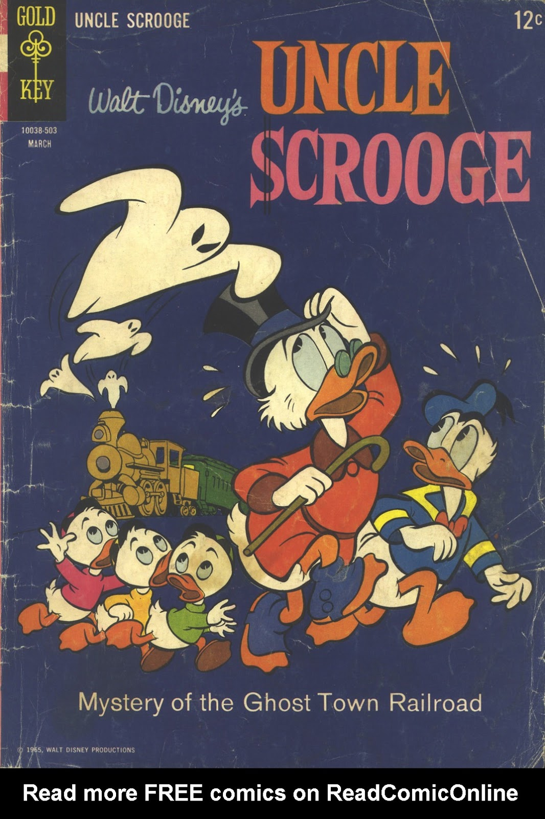Uncle Scrooge (1953) Issue #56 #56 - English 1